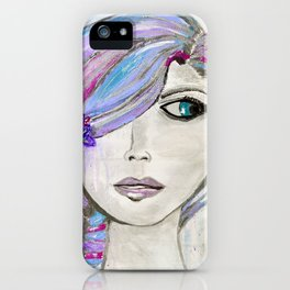 'Colourful Awareness' by Jolene Ejmont iPhone Case