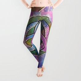 Triquetra Mandala 266 Leggings