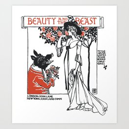 Beast and the Beauty Art Print