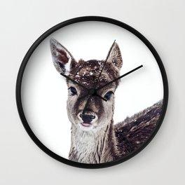 LITTLE FAWN FIONA Wall Clock