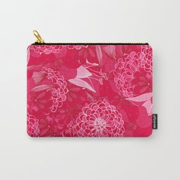 Giardino Pink Carry-All Pouch