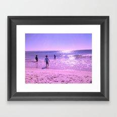 OCEAN FUN Framed Art Print