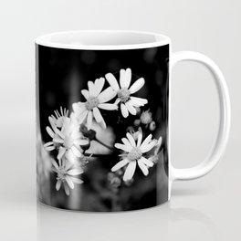 Mini Wildflowers B&W Coffee Mug