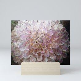 Pastel Flower Painting Mini Art Print