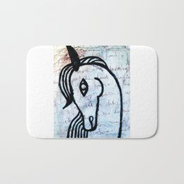A horse from foreign country Bath Mat