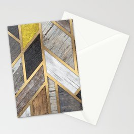 Rustic Scandinavian Design - Wide Stationery Cards