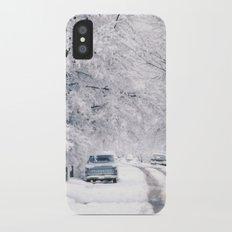 Winter on Beechwood Lane Slim Case iPhone X