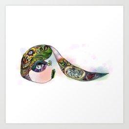 Incept Bun Art Print