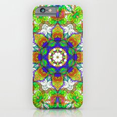 Drawing Floral Doodle G222 iPhone 6s Slim Case