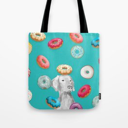 DOG AND DOUGHNUTS Tote Bag