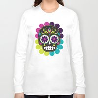 day of the dead Long Sleeve T-shirts featuring Day of the Dead by Piper Burke