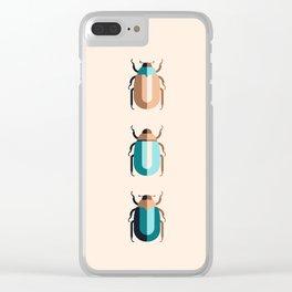 June Bugs Clear iPhone Case