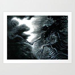 """Cloud Break"" Art Print"