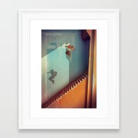 the national Framed Art Prints featuring The National by Guillaume Ospital