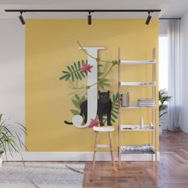 J is for Jungle. Wall Mural