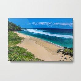 Deserted Beach Metal Print
