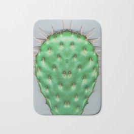 Prickly Pear Cactus Pad Bath Mat