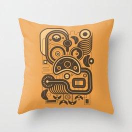 Nonsensical Doodle #3 Throw Pillow