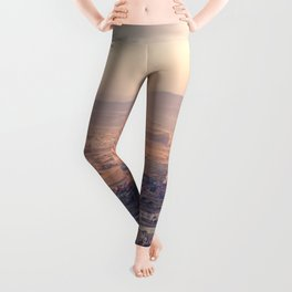 Sunrise Hot Air Balloon Flight Leggings