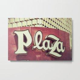 Plaza Metal Print