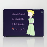 the little prince iPad Cases featuring Cute little prince by Pendientera