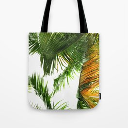 the tropical coconut is here Tote Bag