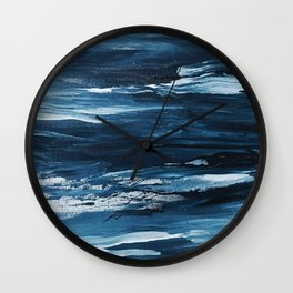 It Comes in Waves Wall Clock