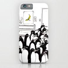 penguins in the bedroom iPhone 6s Slim Case