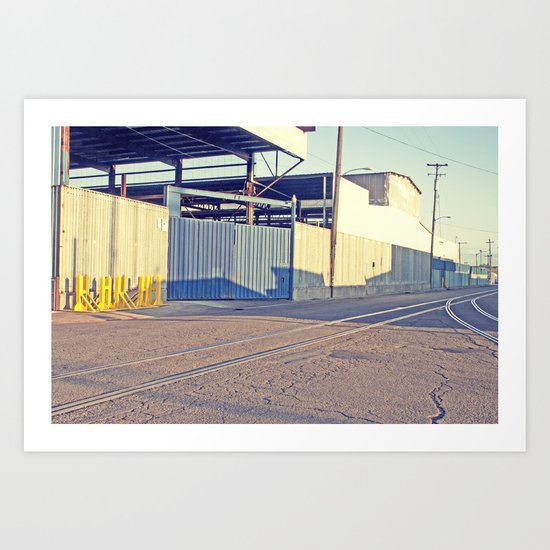 Industrial Porn West Oakland 2 Art Print