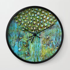 Turquoise home Wall Clock