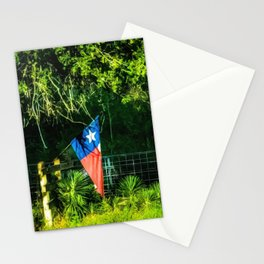 Lone Star Flag Stationery Cards