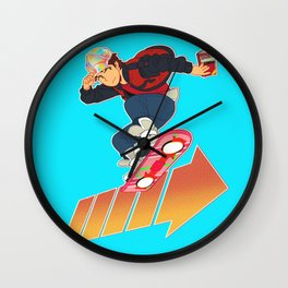 We've Gotta Go Back Wall Clock