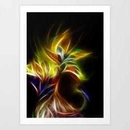Night Bloom Digital Art Print