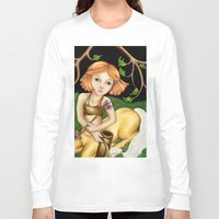 sagittarius Long Sleeve T-shirts featuring Sagittarius by Paula Ellenberger