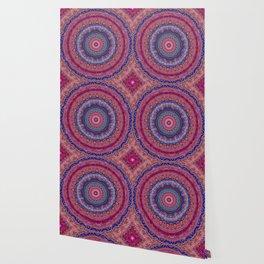 Colorful Agate Mandala Wallpaper