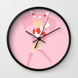 Sailor Chibi Moon (Pink) Wall Clock