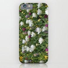 Blumen Beet  Slim Case iPhone 6s