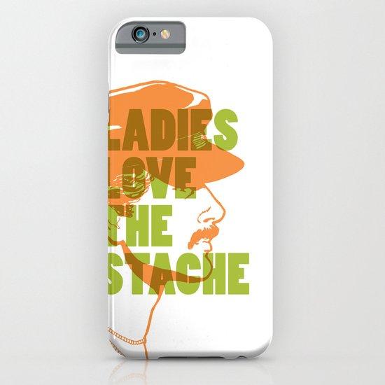 Ladies Love the Mustache iPhone & iPod Case