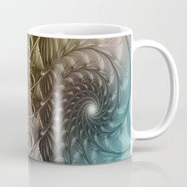 Togetherness, Fractal Art Abstract Coffee Mug