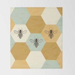 Beehive Throw Blanket
