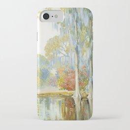 Alfred Hutty - Magnolia Gardens (1920) iPhone Case