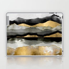 Golden Spring Moon Laptop & iPad Skin