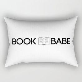 Book Babe Rectangular Pillow