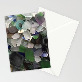 Sea Glass Assortment 3 Stationery Cards
