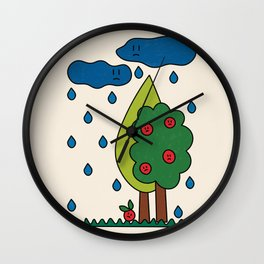 The True Reality / Weather Wall Clock