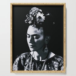 Frida Kahlo Darkness Serving Tray