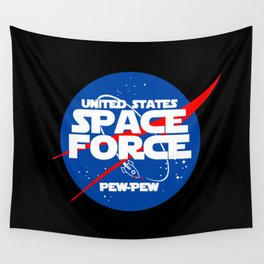 Space Force 2 Wall Tapestry