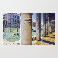venice Area & Throw Rugs featuring Venice by Halina  Jasińska photography