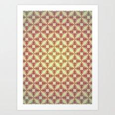 Reality Grid Art Print