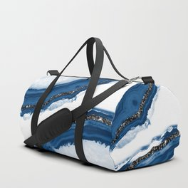 Agate Glitter Glam #14 #gem #decor #art #society6 Duffle Bag